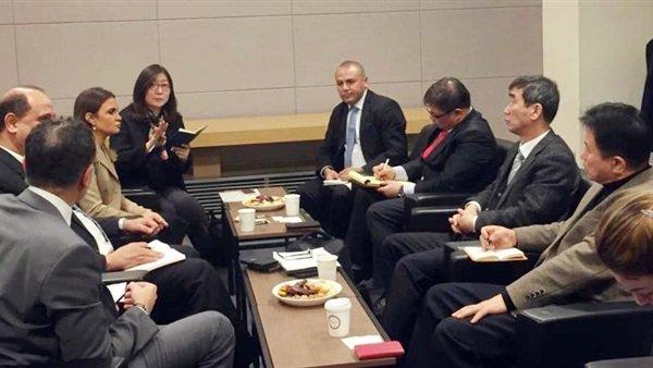 سحر نصر: هيونداي وسامسونج و7 شركات كورية تعتزم الاستثمار فى مصر
