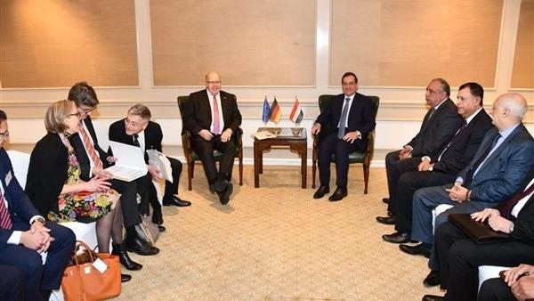 الملا يبحث توسيع التعاون بين مصر وألمانيا فى البترول والغاز