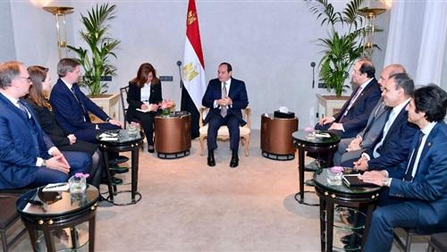 السيسي يعلن من ميونخ أولويات الرئاسة المصرية للاتحاد الأفريقي 2019