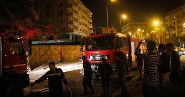 السيطرة على حريق داخل محلان فى حدائق الأهرام دون إصابات