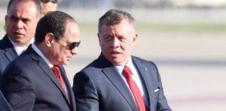 الرئيس السيسى والعاهل الأردنى - ارشيفية
