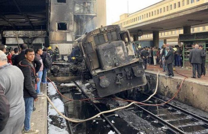 تجديد حبس 5 متهمين جدد فى حادث قطار محطة مصر 15 يوما على ذمة التحقيق