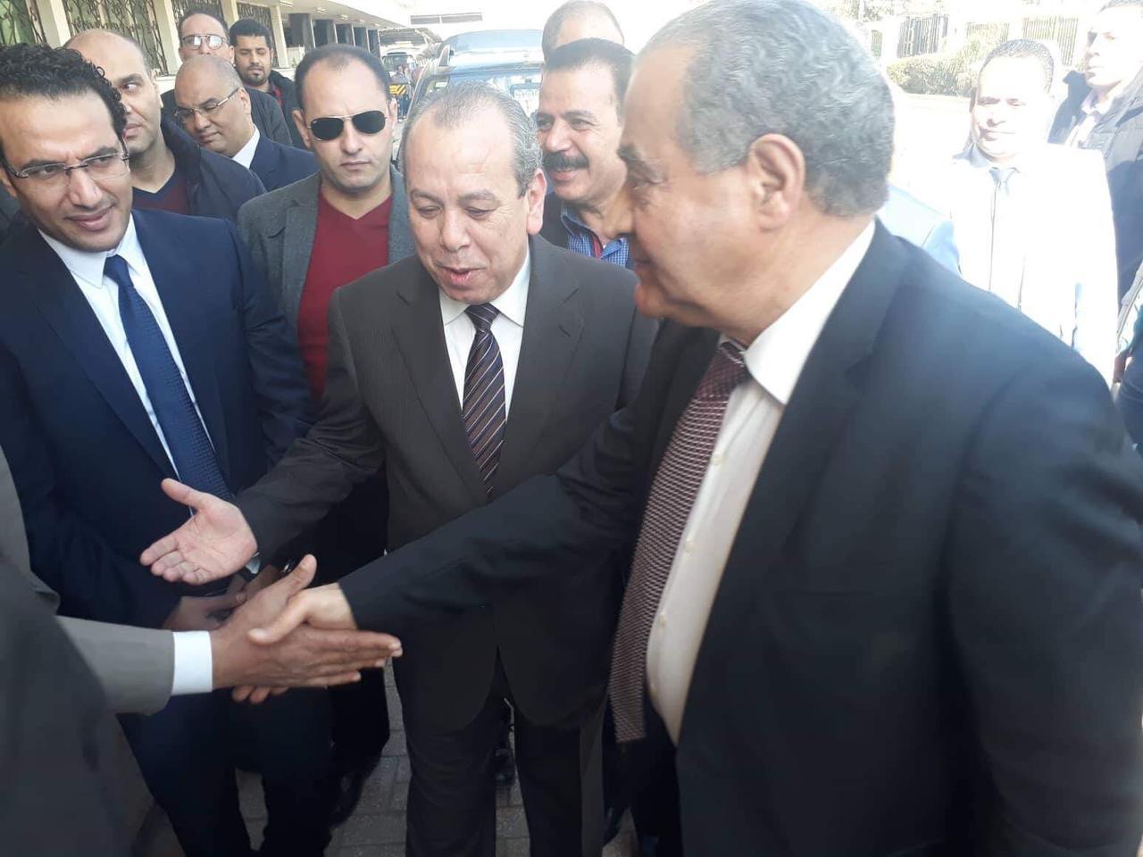 محافظ كفر الشيخ يستقبل وزير التموين لافتتاح أعمال تطوير مصنع بنجر السكر