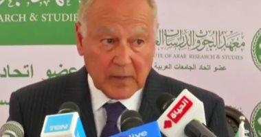 أبو الغيط: أى اعتراف بسيادة اسرائيلية على الجولان السورى غير ذى حيثية