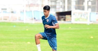 حميد أحداد يسجل أول أهدافه بقميص الزمالك بعد 12 مباراة