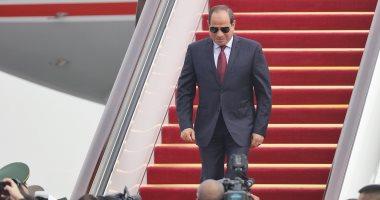 الرئيس السيسي يصل تونس للمشاركة فى القمة العربية الثلاثين