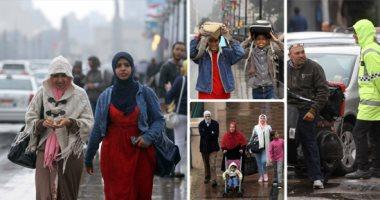 غدا.. أمطار على السواحل الشمالية والصغرى بالقاهرة 13 درجة