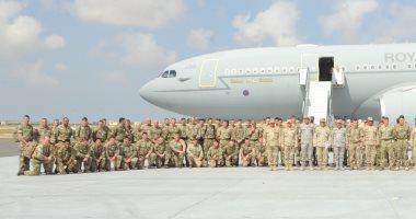 انطلاق فعاليات التدريب المصرى البريطانى المشترك (أحمس -1)