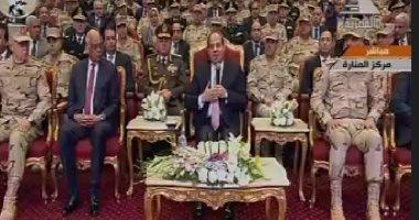 الرئيس السيسي: المشروعات القومية الجديدة لا تكلف موازنة الدولة شيئا