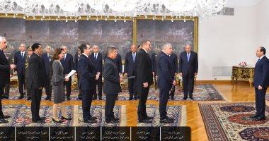 بالأسماء.. السيسي يتسلم أوراق 15 سفيرا جديدا أبرزهم إسبانيا والعراق وإثيوبيا