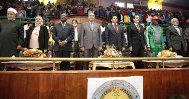 انطلاق الحفل الختامى لأولمبياد شباب جامعات أفريقيا بحضور وزير الرياضة