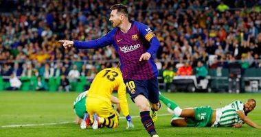 ملخص وأهداف مباراة ريال بيتيس ضد برشلونة فى الدوري الإسباني