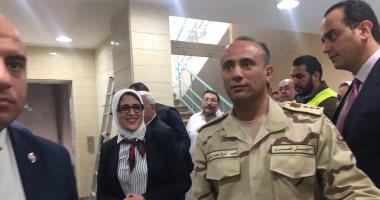 """وزيرة الصحة: بدء العد التنازلى لإطلاق """"التأمين الصحى الشامل"""" ببورسعيد"""