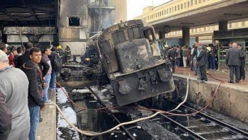 ٤٠ مليون جنيه خسائر السكة الحديد المبدئية بسبب حادث حريق محطة مصر