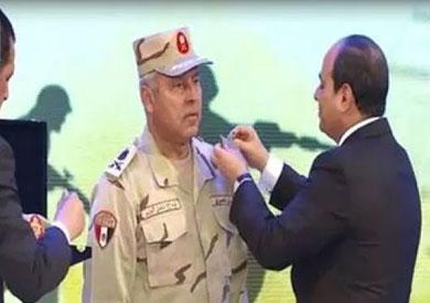 بعد ترقيته إلى فريق.. كامل الوزير: أشكر الرئيس السيسي على مساعدته لي