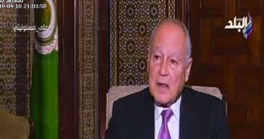 أحمد أبو الغيط: 500 ألف مواطن سورى قتلوا منذ 2011 إلى الآن
