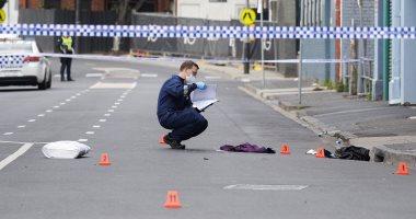 الشرطة الاسترالية فى موقع اطلاق النار