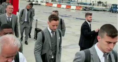 برشلونة يطير إلى مانشستر استعدادا لقمة ربع نهائى دورى أبطال أوروبا