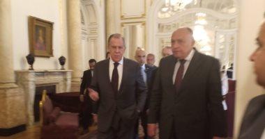 لافروف: قمة مصرية روسية بين السيسي وبوتين فى موسكو الصيف المقبل