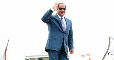 بالفيديو .. الرئيس السيسى يبدأ جولة إفريقية لغينيا والسنغال وكوت ديفوار