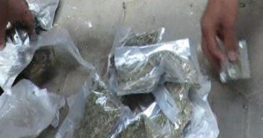 مكافحة المخدرات تضبط 57 كيلو حشيش و2000 قرص مخدر