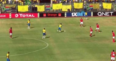 أزارو يسجل الهدف الأول للأهلى أمام صن دوانز فى الدقيقة 67