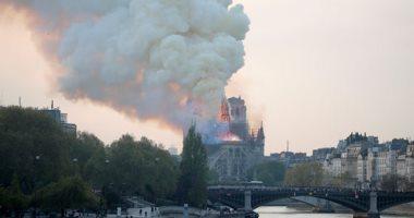 السفير الفرنسى فى القاهرة : فاجعة حريق كاتدرائية نوتردام غير متعمده