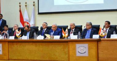 بدء مؤتمر الوطنية للانتخابات لإعلان نتيجة الاستفتاء بالسلام الوطنى