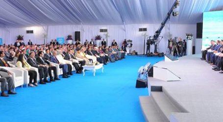 """وصول الوزراء والضيوف """"الماسة كابيتال"""" لحضور منتدى البحث العلمي برعاية السيسي"""
