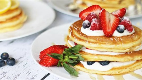 «البان كيك» وجبة إفطار صحية تسعد صغارك