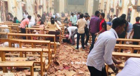 أول فيديو يرصد انفجار كنيسة بسريلانكا