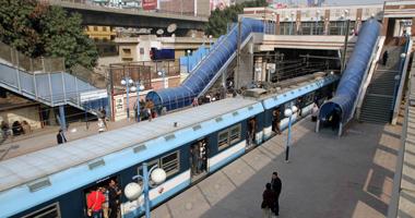 مترو الأنفاق: انتحار مواطن أمام قطار بمحطة غمرة فى الخط الأول