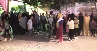 الطوابير تزين لجان البساتين فى الدقائق الأخيرة للاستفتاء على الدستور ..صور