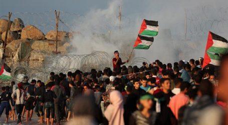 إصابة 14 فلسطينيا برصاص الاحتلال الإسرائيلي على حدود غزة