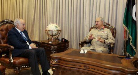 حفتر يتهم المبعوث الأممي إلى ليبيا غسان سلامة بالانحياز