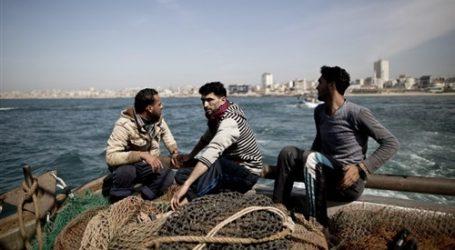 إضراب صيادي غزة احتجاجا على تخفيض كمية تصدير الأسماك للضفة