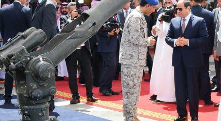 الرئيس السيسى يستمع لشرح عن الاعتداءات على الأراضى السعودية