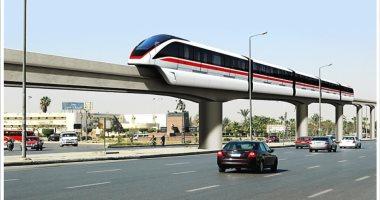 """الحكومة تبدأ التقييم الفنى لـ""""مونوريل"""" العاصمة الإدارية لربطها بخطوط المترو"""