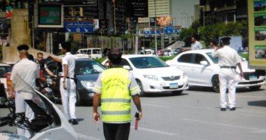 المرور يضبط 3950 مخالفة مرورية بمحاور وميادين الجيزة خلال 24 ساعة