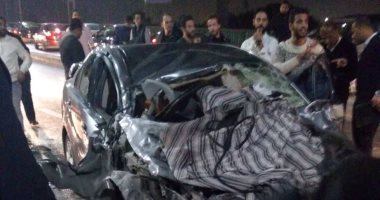 مصرع طالب وإصابة أخر فى حادث سير جنوب بنى سويف