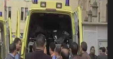 إصابة 8 أشخاص فى حادث اصطدام أتوبيس بحاجز خرساني في الساحل الشمالي