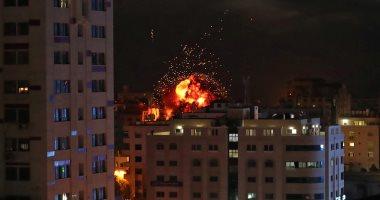 ارتفاع عدد شهداء الغارات الإسرائيلية على قطاع غزة لـ12 وإصابة 105 آخرين