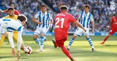 ملخص مباراة سوسيداد ضد ريال مدريد في الدوري الإسباني