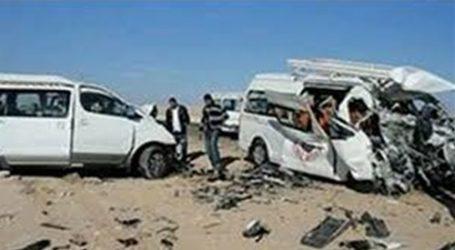 ننشر أسماء ضحايا حادث انقلاب ميكروباص بطريق الكريمات
