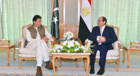 باكستان تقدر دور مصر المحوري والفاعل في العالمين العربي والإسلامي