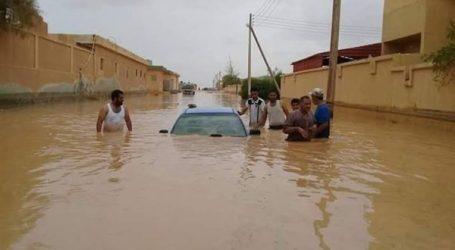 الآلاف يضطرون لمغادرة منازلهم في جنوب غرب ليبيا بسبب الفيضانات