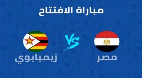 بث مباشر لمباراة مصر وزيمبابوي في افتتاح أمم افريقيا ٢٠١٩