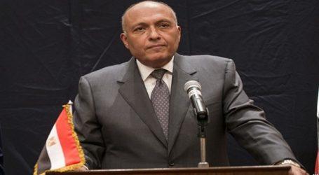 سامح شكرى أمام وزراء خارجية العرب: موقف مصر من القضية الفلسطينية ثابت