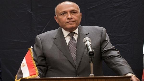 وزير الخارجية سامح شكري