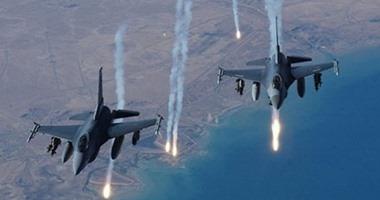 التحالف الدولى يشن غارات على مواقع لوجستية لداعش بمحافظة الأنبار العراقية